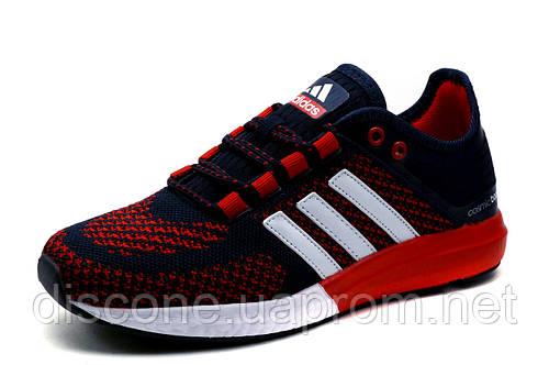 Кроссовки унисекс Adidas Cosmic Boost, текстиль, сине-красные, р. 38