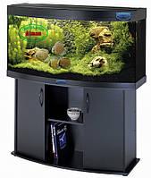 Овальный аквариум 180л с крышкой и лампами 2х30 Вт, Т8