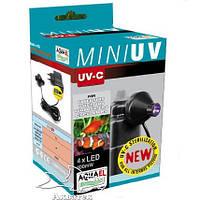 Ультрафиолетовый стерилизатор Aquael Mini-UV  к  фильтрам FAN,UNI,TURBO, PAT MINI код 109521