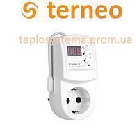 Терморегулятор для обогревателей Terneo rz (розеточный), Украина