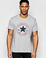 Серая футболка с логотипом Convers (Конверс)