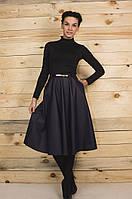 Стильная женская юбка с карманами.
