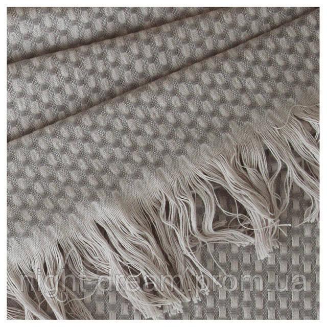 Hasir от Eke Home плед-покрывало из эвкалипта  110х180  silver