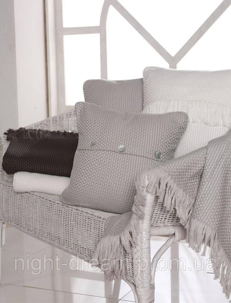 Hasir от Eke Home декоративная подушка 40х40 silver