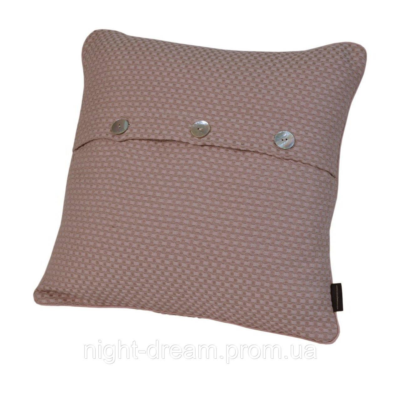 Hasir от Eke Home декоративная подушка 40х40 palemauve