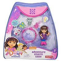 Рюкзак Даши путешественницы с браслетом, куклой, питомцем и аксессуарами. Оригинал Fisher-Price и Nickelodeon