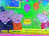 Картина из пайеток Свинка Рeppa, день рождения