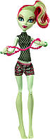Кукла Монстер Хай Венера Мухоловка Фантастик фитнеc(Monster High Fangtastic Fitness Venus McFlytrap Doll)