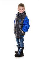 Куртка весна осень для мальчиков Трансформер Ferrari (32-40)