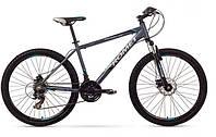 """Горный велосипед Romet Rambler 26"""" 2.0 графит синий"""