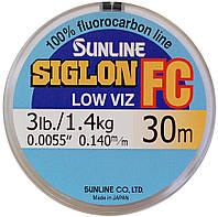 Флюорокарбон Sunline Siglon FC 2.4lb / 1.1kg / 0.128mm / 30 m