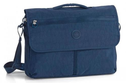 """Портфель с отделом для ноутбука 15,6"""" тканевый Roncato Rolling 7111/03 синий"""