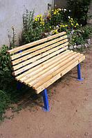 Лавочка (скамейка) садовая, парковая, дачная 1500 мм