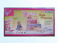 Набор мебели для кукол Gloria Детская комната
