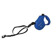 Collar Control S поводок-рулетка синяя для собак до 12кг, 5м