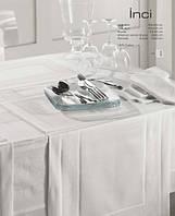 Элитная белая скатерть Inci от Eke Home 160х160