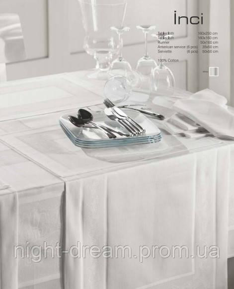 Дорожка на стол Eke Home Inci 50х160