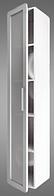 Пенал для ванной комнаты ПСТ-1 Буль-буль белый
