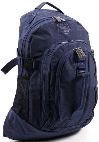 Вместительный городской рюкзак из нейлона 15 л Bagland 14770-3 индиго