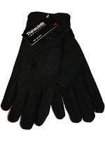Зимние перчатки флисовые Thinsulate 40 gram, Черный (Тинсулейт)