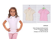 Футболка - блуза для девочки Оборка на планке