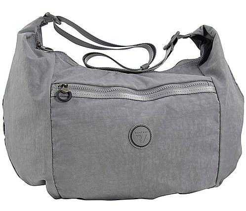 Молодежная наплечная стильная сумка Roncato Rolling 7113/14 серый