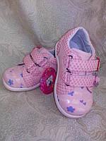 Туфли светло розовые на девочку