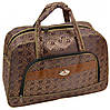 Потрясающая дорожная cумка 30 л. текстиль 8803-1 brown