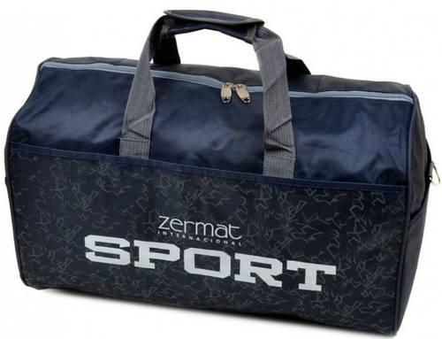 Неповторимая дорожная спортивная cумка 29 л. текстиль 180 blue