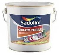 Лак для пола Sadolin CELCO TERRA 20 полуматовый 10л (Селко Терра)