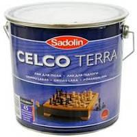 Лак для пола Sadolin CELCO TERRA 20 полуматовый 2,5л (Селко Терра)