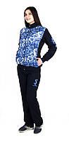 Весенний женский спортивный костюм с 3-D сеткой