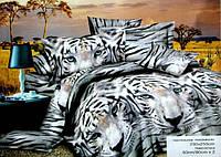 Плед-покрывало 3Д евро CLOBAN тигры
