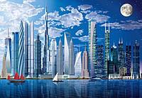 Фотообои бумажные на стену 366х254 см 8 листов: Самые высокие небоскребы в мире
