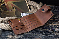 Мужской кожаный кошелек Бумажник mod.W.M