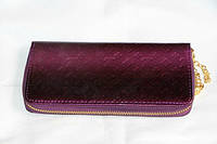 Модный лакированный кошелек Louis Vuitton