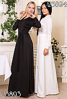 Стильное молодежное платье в пол ВХ7031