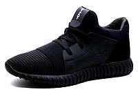Кроссовки мужские Adidas Yeezy CC35 Black, черные, кожа, фото 1