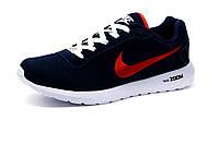 Кроссовки мужские Nike, замша, синие, р. 46, фото 1