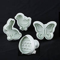 Плунжеры для мастики Empire 8602 Пасхальный набор 4 шт