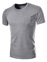 Классическая футболка с карманом