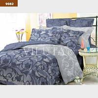 9982 Полуторное постельное белье ранфорс Platinum Viluta