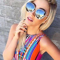 Женские солнцезащитные очки Dior Technologic 2016 зеркальные, магазин очков