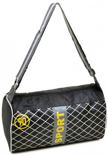 Оригинальная дорожная спортивная cумка 17 л. текстиль 290 black