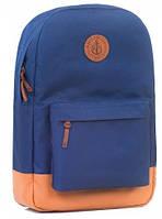 Яркий рюкзак на каждый день с отделением для нетбука (планшета, iPad) на 17 л GIN БРОНКС XL-blue