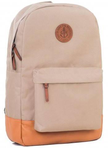 Женский рюкзак с отделением для нетбука (планшета, iPad) на 17 л GIN БРОНКС XL-beige