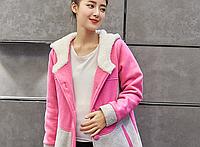 Яркая куртка-джемпер для беременных