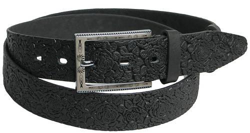 Стильный женский кожаный ремень 3036 черный