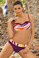 Модный  купальник женский Marko в фиолетовых оттенках