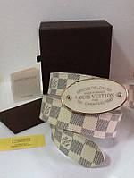 Ремень мужской брендовый Louis Vuitton